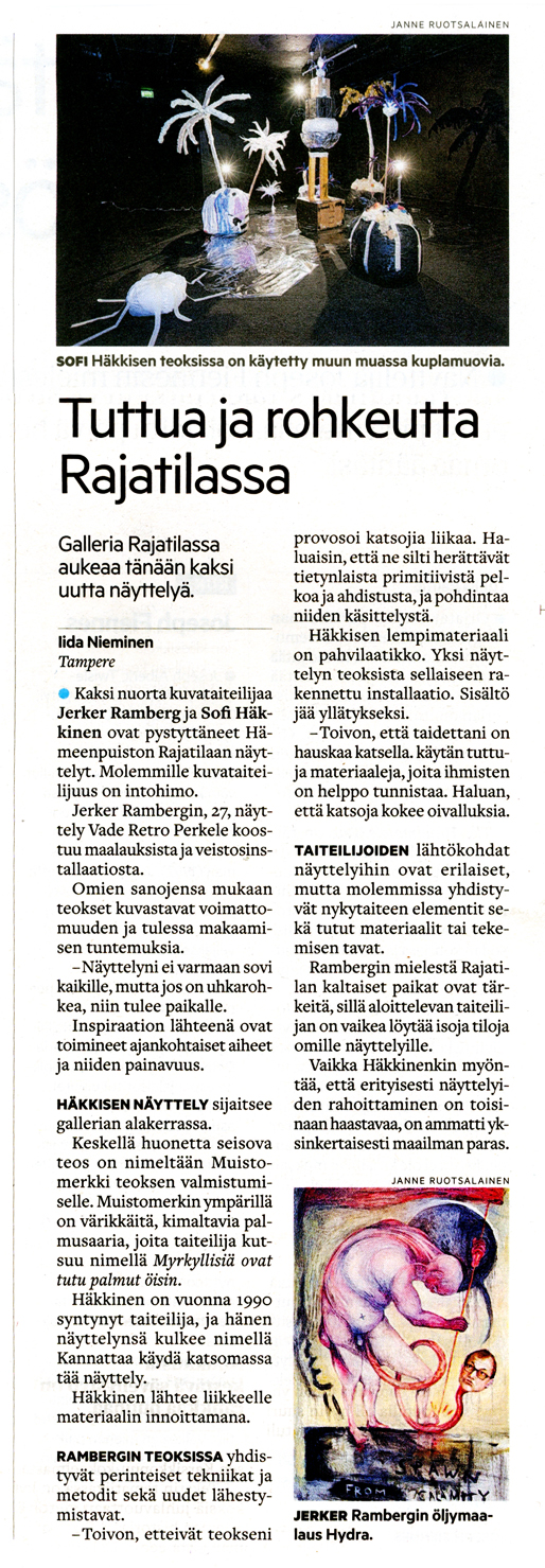 Aamulehti 3.6.2017
