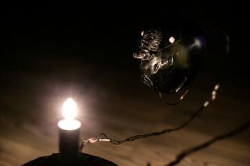 ...ja sitten vielä, 2016 Rotating sculpture, light photo c/ Iida-Liina Linnea