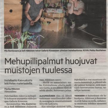Hämeenlinnan Sanomat 5.8.2017